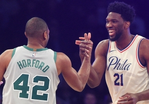 Joel Embiid And Al Horford Went Back And Forth On Which Basketball Player Is The G.O.A.T.