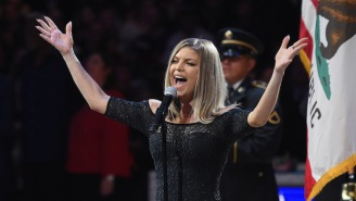 Charles Barkley 'Needed A Cigarette' After Fergie's NBA All-Star National Anthem