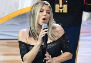 Fergie Issues A Statement Addressing The Criticism Of Her All Star-Game National Anthem Performance