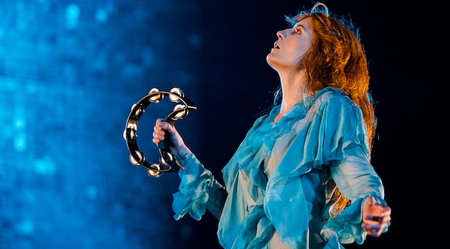 Florence And The Machine Helped A Fan Propose To Her Partner On Stage
