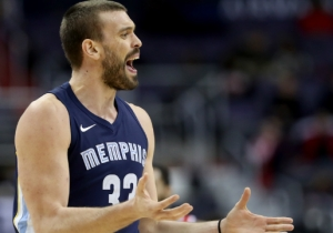 Marc Gasol Tells The Media They 'Might Know More' About His Future In Memphis Than He Does