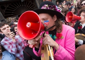 Arcade Fire Are Celebrating Mardi Gras Early With A Haitian-Themed Parade In New Orleans