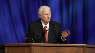 Rev. Billy Graham's Body WIll 'Lie In Honor' At The U.S. Capitol Rotunda