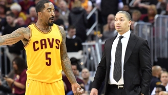 J.R. Smith Considered Asking Tyronn Lue To Pull Him From The Lineup At Times This Season
