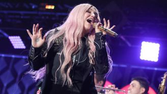 Kesha Postpones Spring Tour Dates After Tearing Her ACL During An In-Concert Stumble