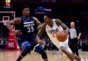 Jimmy Butler Challenged Lou Williams To Play 1-On-1 For $100K After Their All-Star Spat
