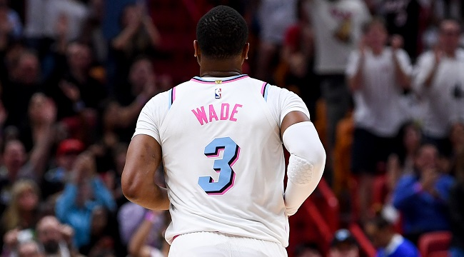 on sale 2d7fa e06c9 Dwyane Wade's Heat 'Vice' Jersey Will Restock In Time For ...