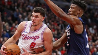 Zach LaVine Wished Jimmy Butler The Best After The Timberwolves Star Injured His Knee