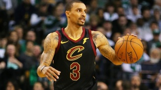 LeBron James Seems Very Excited To Play With New Point Guard George Hill