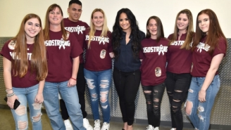 Parkland Shooting Survivors Joined Demi Lovato Onstage For The First Night Of Her Tour