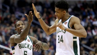 Giannis Antetokounmpo 'Did Not See Tim Hardaway Under Me' When He Dunked Over Him