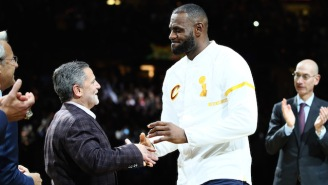 Stephen A. Smith Thinks Cavs Owner Dan Gilbert Is Trying To Get LeBron James To Leave Cleveland