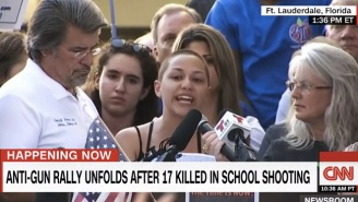 Watch Marjory Stoneman Douglas High School Student Emma Gonzalez Deliver A Fiery, Moving Speech At A Florida Rally