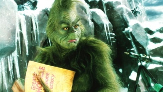 Jim Carrey's 'Combative' Attitude During 'The Grinch' Sent The Film's Makeup Artist Into Therapy