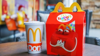 McDonald's Is Booting An Iconic Food Off The Happy Meal Menu