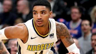 Gary Harris Hit A Buzzer-Beater For The Nuggets To Stave Off A Wild Thunder Comeback