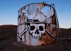 Artists Turn Toxic Factory Into Massive Art Project