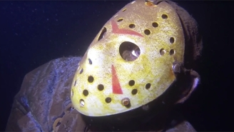 'Friday The 13th' Fans Are In For A Surprise Thanks To This Creepy Underwater Jason Statue In Minnesota