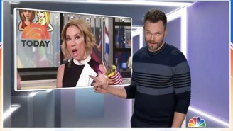Joel McHale Is Already Embroiled In A Playful Feud With Kathie Lee On His New Netflix Show