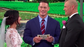 John Cena Officiated A Wedding On 'Today,' Because Romance Is Alive And Well