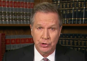 John Kasich Furiously Lashes Out At 'Totally Dysfunctional' Congress For Failing To Act On Guns