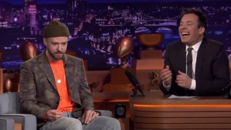 Justin Timberlake Visited Jimmy Fallon After His Super Bowl Halftime Show To Perform Even More