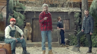 Justin Timberlake's Outdoorsy 'Man Of The Woods' Video Is Good Clean Fun Featuring Jessica Biel