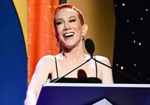 Kathy Griffin Blasted The Writers Guild At Their Own Event For Their Lack Of Support During Her Trump Photo Scandal