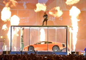 Kendrick Lamar's Fiery BRIT Awards Performance Featured Rich The Kid Smashing A Car