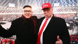 A Pair Of Kim Jong-Un And Trump Impersonators Reportedly Got Booted From The Olympics Opening Ceremony