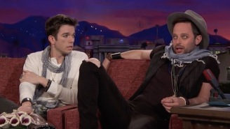 Nick Kroll And John Mulaney Debut Their New Insufferable Hipster Characters On 'Conan'