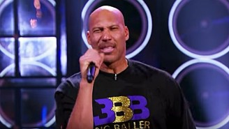 LaVar Ball Performs 'Hate Me Now' By Nas Against Lonzo On 'Lip Sync Battle'