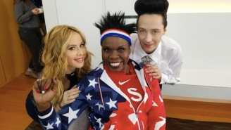 Leslie Jones, Tara Lipinski And Johnny Weir Channel Beyonce To Share Their Olympics Love