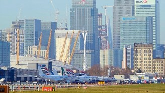 London City Airport Has Been Shut Down After An Unexploded WWII Bomb Was Found Nearby
