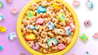 Lucky Charms Goes Into Mythical Beast Mode With Their First New Marshmallow In A Decade
