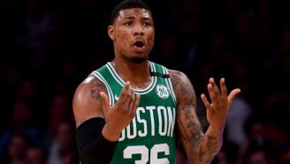 The Celtics Reportedly Want To Flip The First Round Pick They'd Get For Trading Marcus Smart