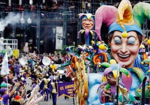 Instagram Highlights Of Last Night's French Quarter Mardi Gras Parties