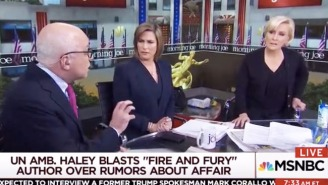 Michael Wolff Says 'The President Is Right About Mika' After Brzezinski Cuts Him Off On 'Morning Joe'