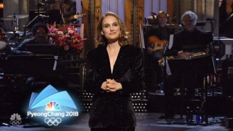 Natalie Portman's 'SNL' Monologue Is Invaded By NBC's Overwhelming Winter Olympics Coverage