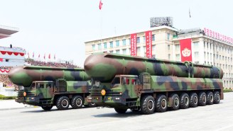 North Korea Stages A Pre-Olympics Military Parade While Ruling Out Meeting With U.S. Officials