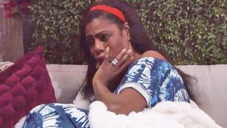 Omarosa Weeps On 'Celebrity Big Brother' About Being 'Haunted' By Trump Tweets 'Every Single Day'