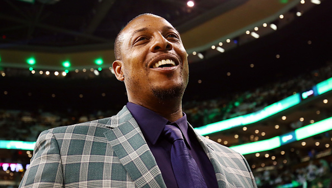best service 6c383 33d20 Paul Pierce's Jersey Retirement Ceremony Was Everything He ...