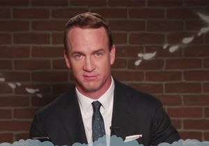 Peyton Manning, Jason Pierre Paul, And More NFL Stars Read Mean Tweets On 'Kimmel' Ahead Of The Super Bowl