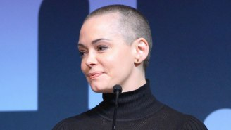 Rose McGowan Reveals That Her See-Though VMAs Dress Was A Secret Protest Against Harvey Weinstein