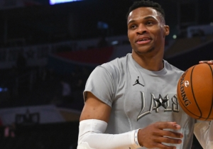 Joel Embiid And Russell Westbrook Continued Their Feud At The 2018 All-Star Game