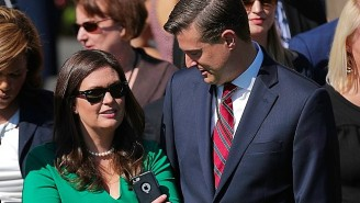 Report: Sarah Sanders Held A Secret Meeting Between Rob Porter And Reporters Without John Kelly's Knowledge