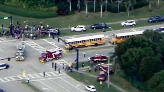 At Least 17 People Have Died Following A Shooting At A High School In Parkland, Florida
