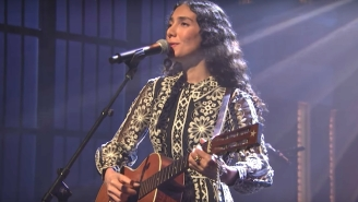 Bedouine Proves Ready For The Spotlight In Her Debut TV Performance On 'Late Night With Seth Meyers'
