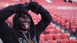 Watch Rey Mysterio Take A 'Breathtaking' Tour Of Manchester United's Old Trafford