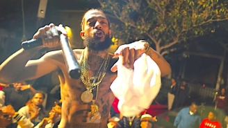 Nipsey Hussle Pulls Off A Daring Heist In The High-Speed Video For 'Hussle And Motivate'